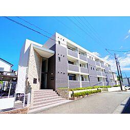 静岡県静岡市駿河区小鹿の賃貸マンションの外観
