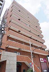 東京都新宿区東五軒町の賃貸マンションの外観