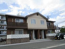 福岡県春日市上白水5丁目の賃貸アパートの外観