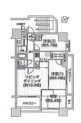 クレアメゾン青梅 8階
