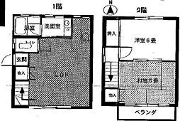 [テラスハウス] 埼玉県久喜市南2丁目 の賃貸【/】の間取り