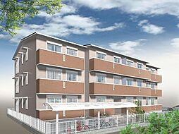 アメニティー大和市下鶴間新築アパート[3階]の外観