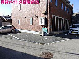 三重県津市牧町の賃貸アパートの外観