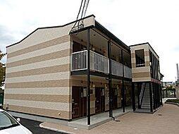 大阪府茨木市平田台の賃貸アパートの外観
