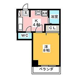 アーバンコート小松[3階]の間取り