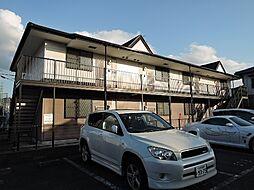福岡県北九州市八幡西区美原町の賃貸アパートの外観