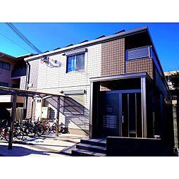 奈良県奈良市秋篠新町の賃貸アパートの外観