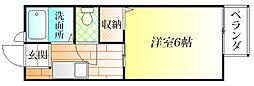 カウルミ[1階]の間取り
