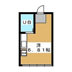 百小屋ビル[2階]の間取り