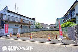 世田谷区八幡山3丁目の土地分譲。京王線「八幡山」駅徒歩約5分の便利な立地です。