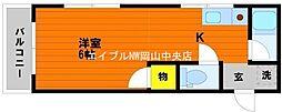 野田レジデンス[3階]の間取り
