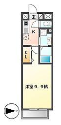 リシュドール鶴舞公園[12階]の間取り