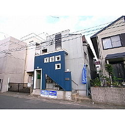 福岡県久留米市中央町の賃貸アパートの外観