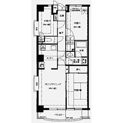 ファインドエル2新宿[3階]の間取り
