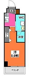 パティーナ十条Duo[3階]の間取り