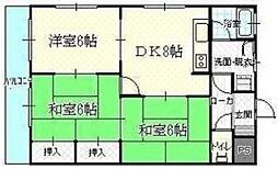 第2沖広ビル(YJ)[204号室]の間取り