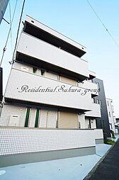 神奈川県大和市上和田の賃貸マンションの外観