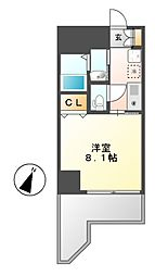 プロビデンス金山[5階]の間取り