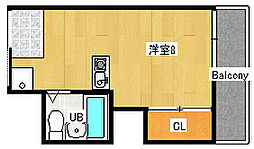 ドムス柿木[1階]の間取り