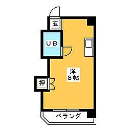 S・T宝生[3階]の間取り