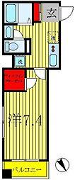 クレストタワー柏[7階]の間取り