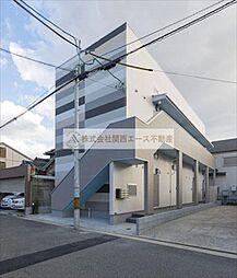 大阪府堺市北区東雲東町1丁の賃貸アパートの外観