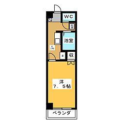 シャトーII  ASANO[1階]の間取り
