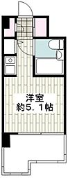JR京浜東北・根岸線 洋光台駅 徒歩12分の賃貸マンション 2階ワンルームの間取り