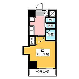 プレジデント大須[3階]の間取り