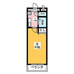 A・City井内町[2階]の間取り