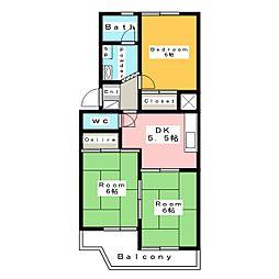 ネクストマンション (Nextマンション)[4階]の間取り