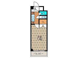 ナルセ33ハイム[3階]の間取り