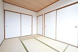 鷹の巣ハイツA棟[203号室]の外観