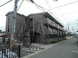 ドミール若江[2階]の外観