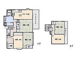 [一戸建] 神奈川県横須賀市鴨居3丁目 の賃貸【/】の間取り