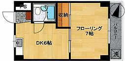 小山利ビル[4階]の間取り