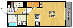ル・トレゾア[2階]の間取り