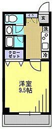メルベイユII[2階]の間取り