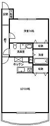 フォルトゥーナ[3階]の間取り