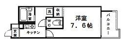 プレサンス新大阪[10階]の間取り