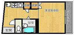 ラポール千里山[301号室]の間取り