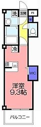 ツリーデン松戸III[4階]の間取り