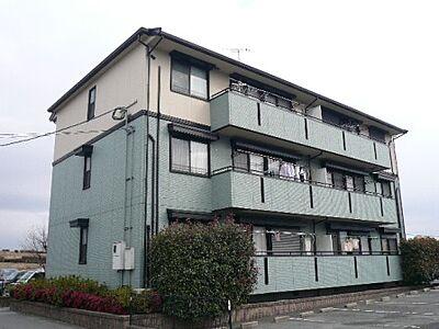 外観,3DK,面積59.67m2,賃料4.2万円,,,福岡県久留米市東櫛原町