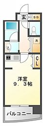 サンロワール江坂[406号室号室]の間取り