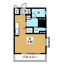 スクエア栄[8階]の間取り