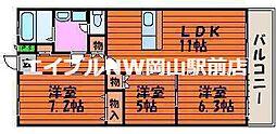 ルネス武田[1階]の間取り