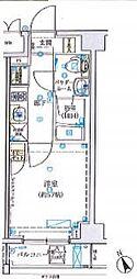 SHOKEN Residence横浜野毛山公園 7階1Kの間取り