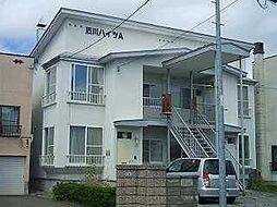 石川ハイツA 1階2LDKの間取り