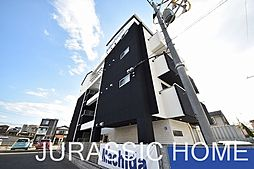 大阪府堺市北区北花田町4丁の賃貸マンションの外観