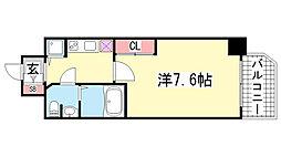 エスレジデンス神戸磯上通[11階]の間取り